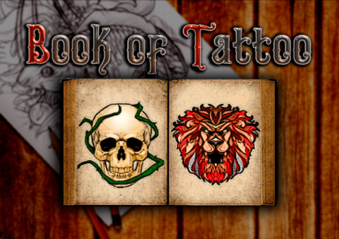 Book Of Tattoo slot game Featured image