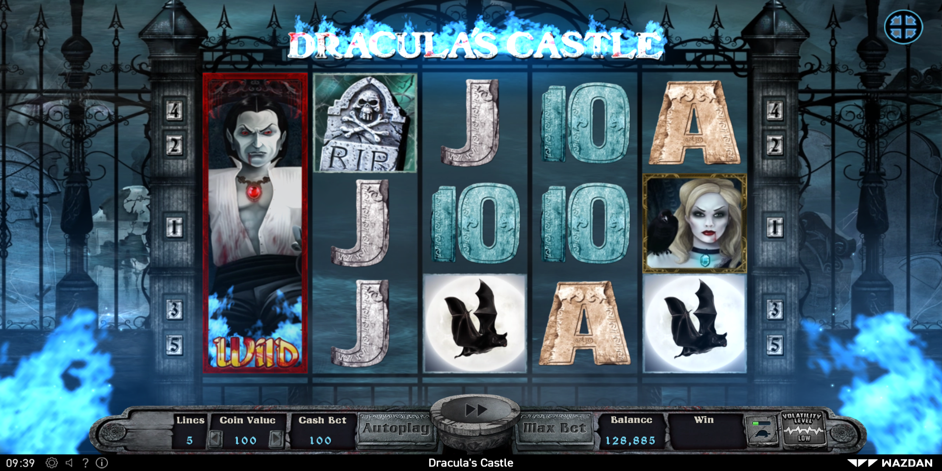 Wazdan Casinos Release New Draculas Castle Slot