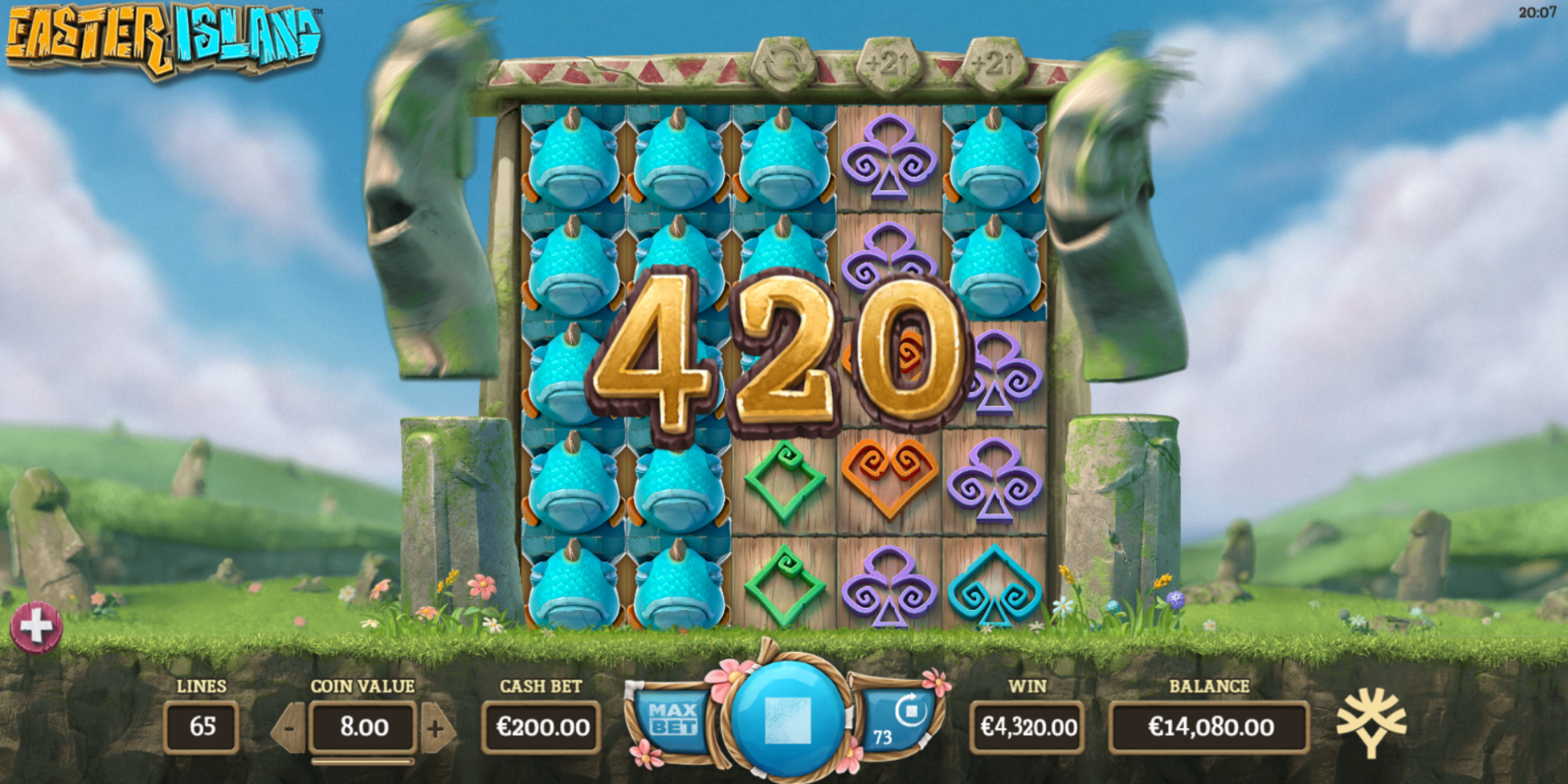 Easter Island Game