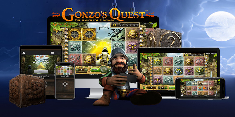 Gonzo's Quest slot game Compatible for all mobile devices