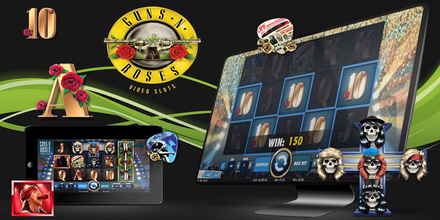 Guns N Roses slot game Compatible for all devices