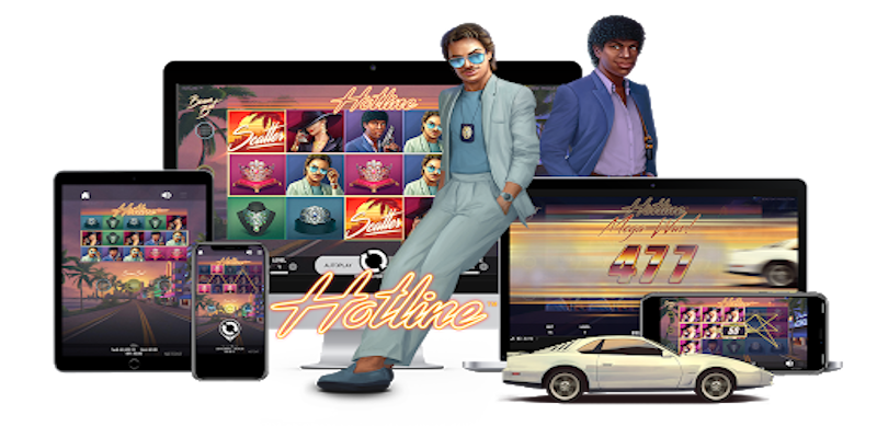Hotline slot game Compatible for all type devices