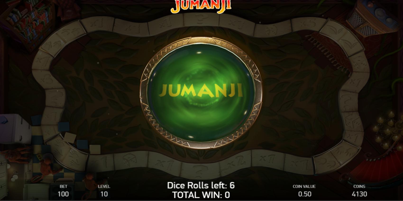 Jumanji slot game Jumanji Board game