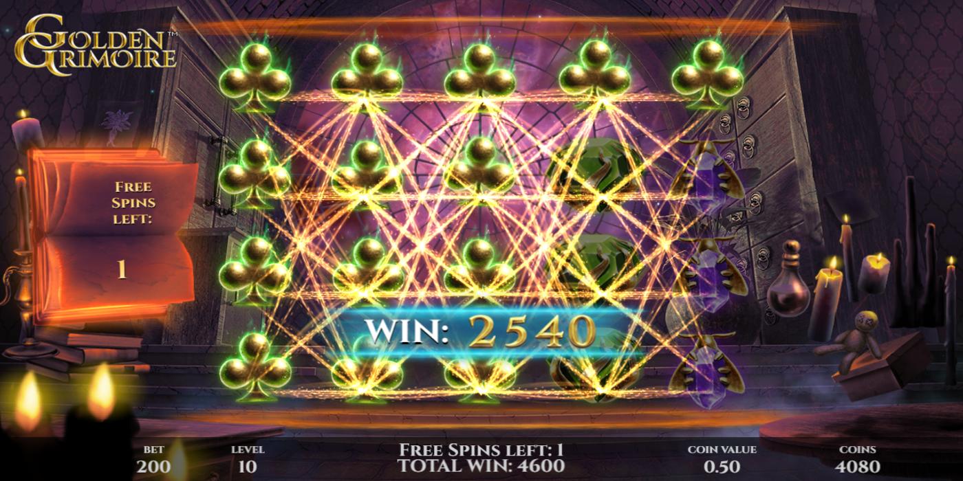 Spiele Golden Grimoire - Video Slots Online