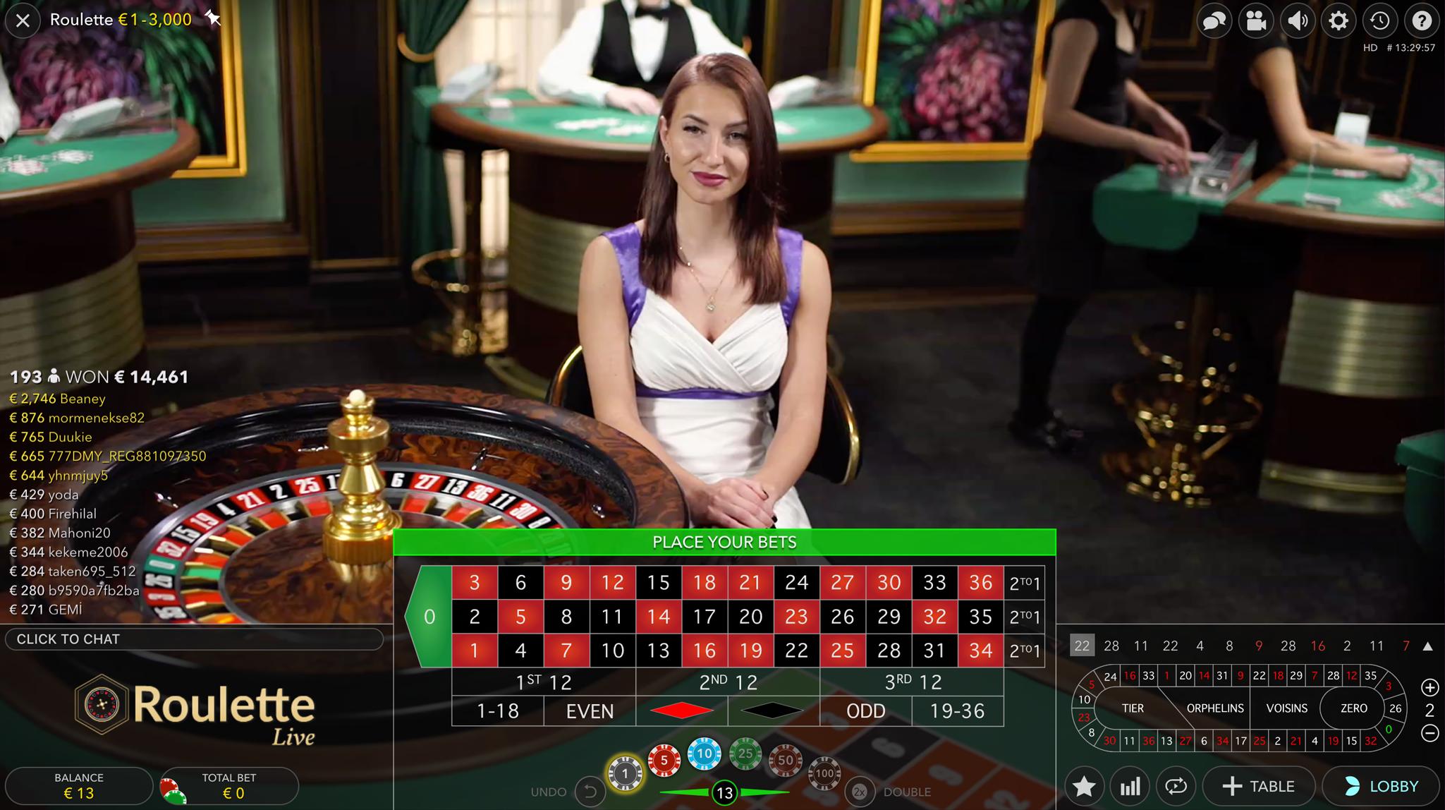Online rulete_tiešsaistes kazino rulete_Live Krupjē