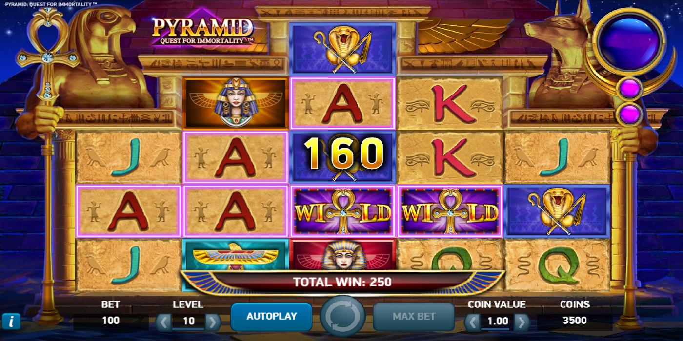Pyramid Slot Game