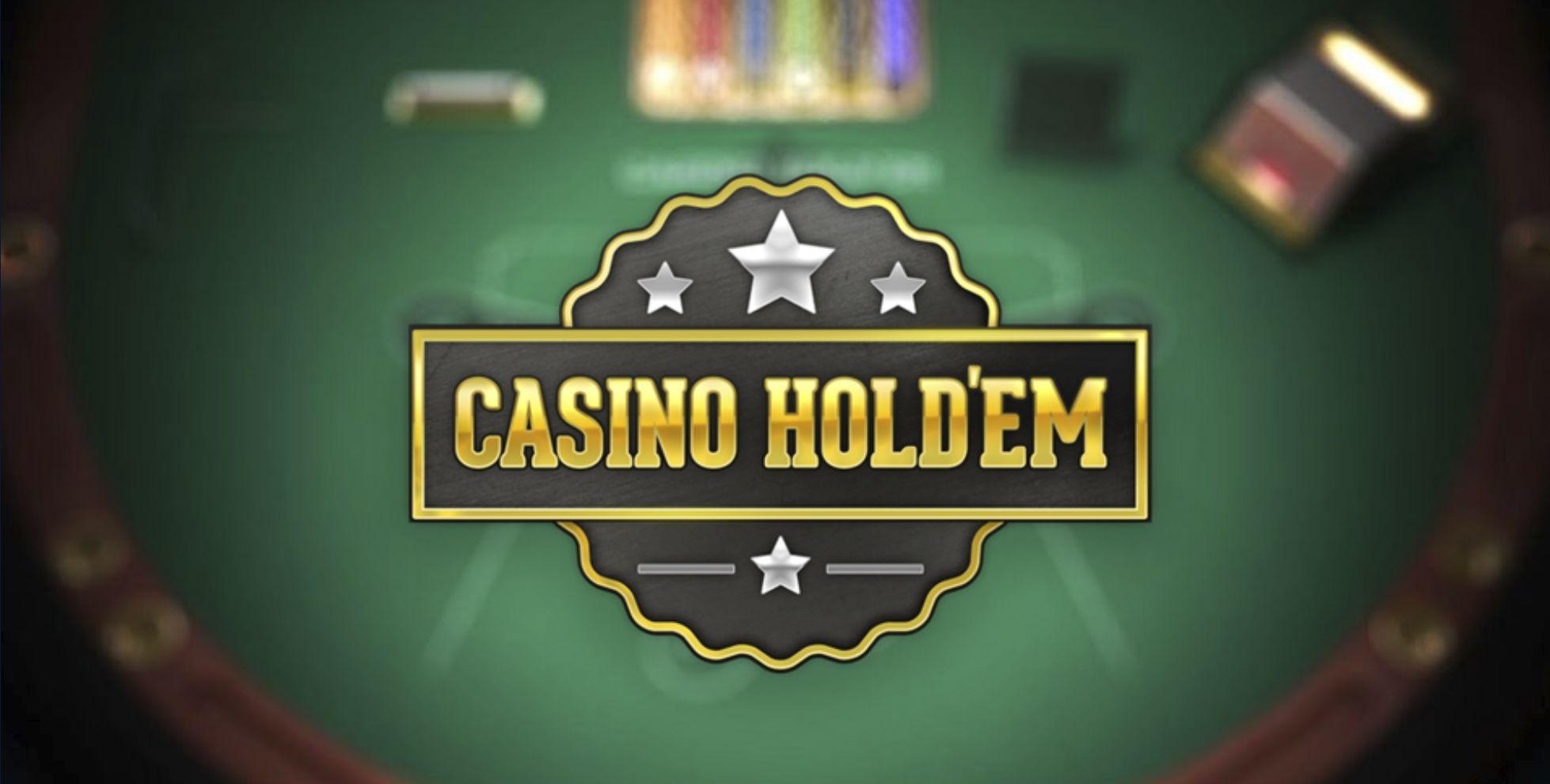 online Casino Hold'em Poker online strategy