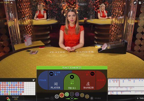 Casino kortspill baccarat online