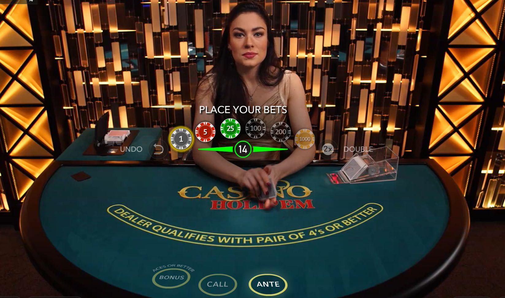 Miten Casino Holdemia pelataan