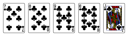 video-poker-rules-straight-flush