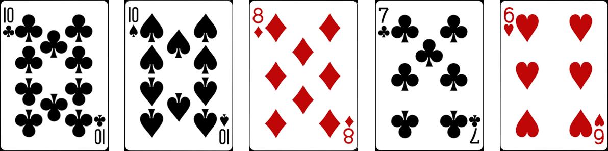 One pair jeb Pāris Video pokers kombinācija