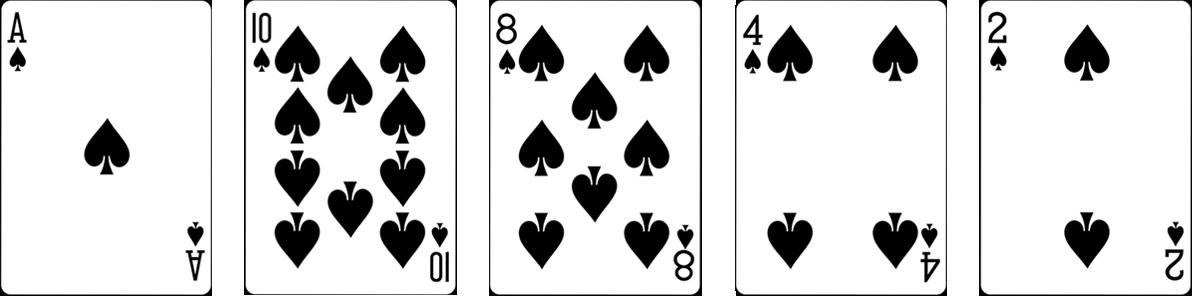 Pokera kombinācijas - Flush