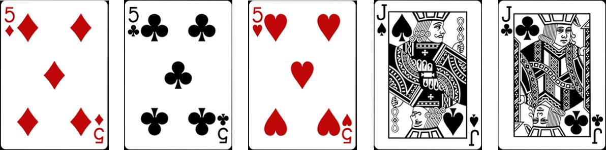 Pokera kombinācijas - Full House