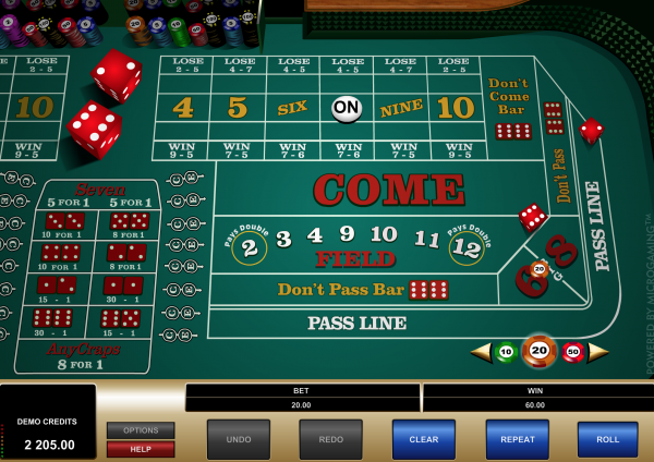 how to play craps-rules
