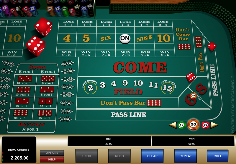 Online Craps How To Play Top 3 Casinos 2020