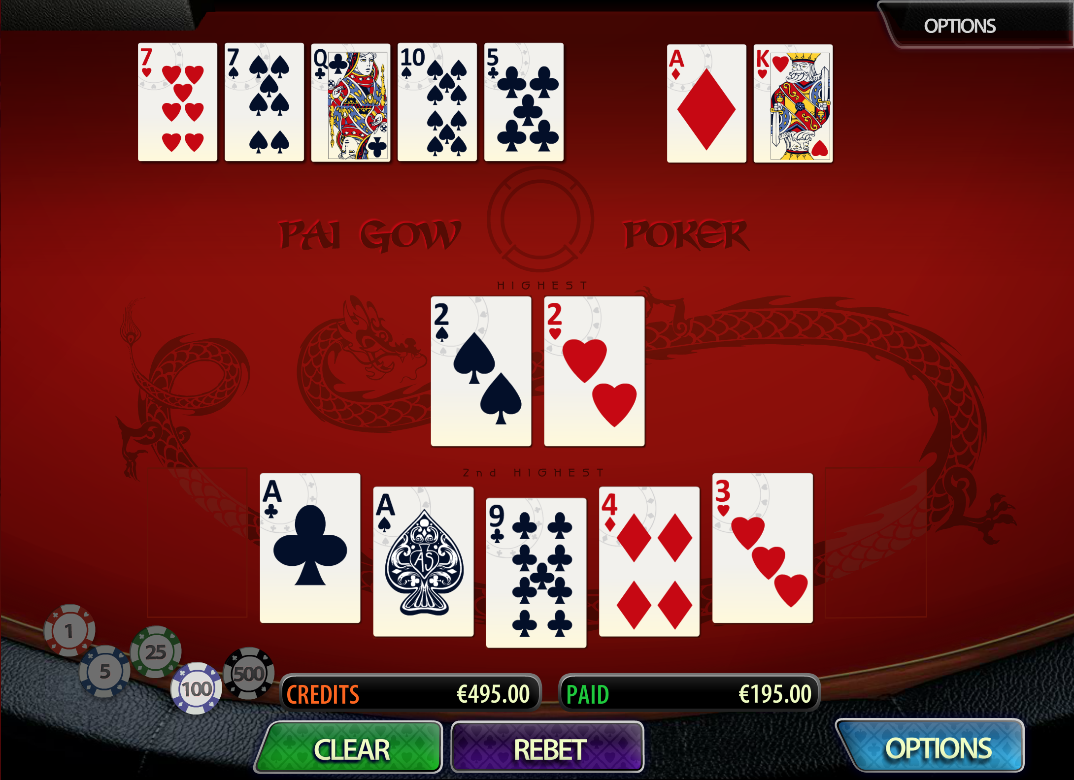 how to play_pai gow poker_online