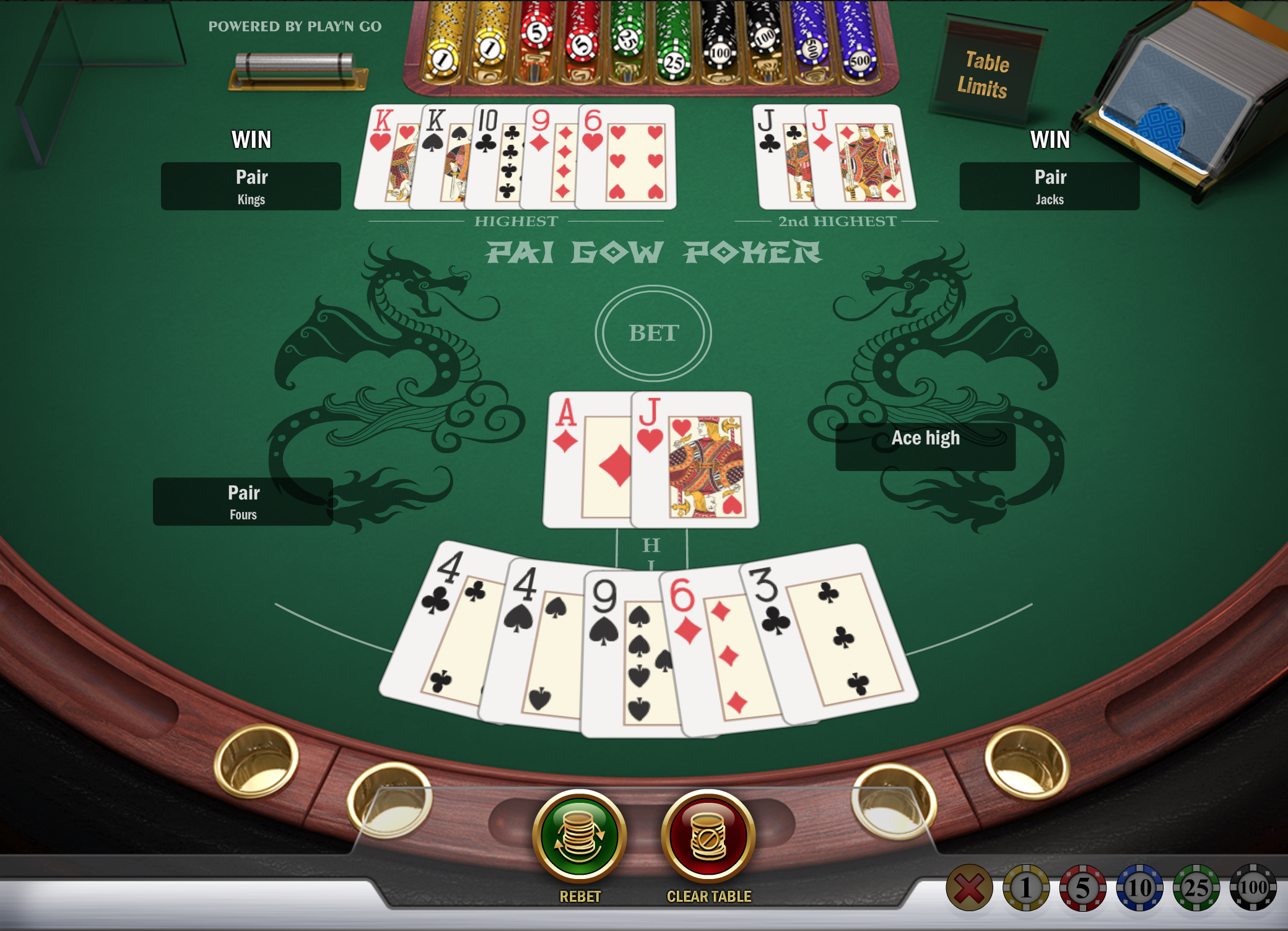 pai gow poker online_rules