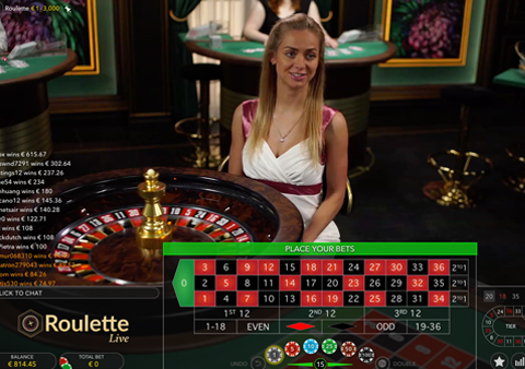 Online Live Roulette Casino Game