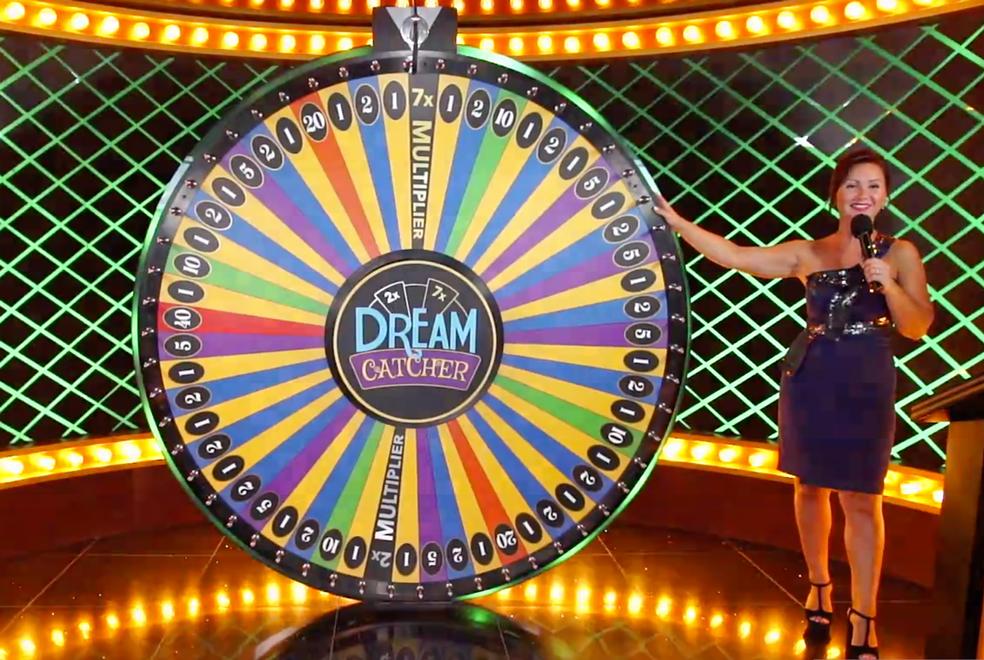 Live Money Wheel kasinopeli verkossa_Live Dream Catcher noudattaa online-kasinopeliä_rahapyörä