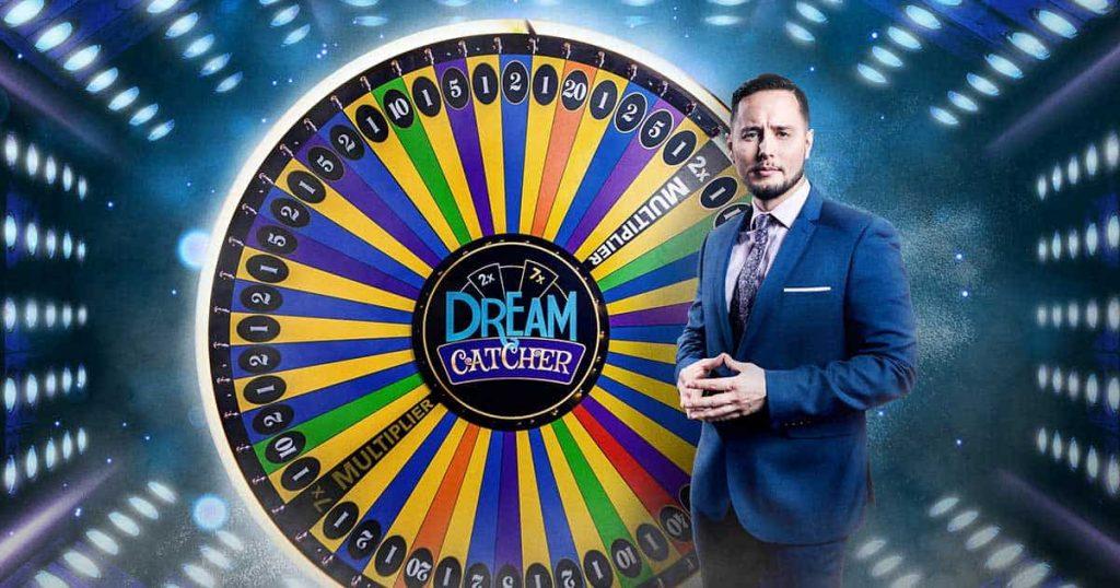 Money wheel online game Dream catcher Live dealer