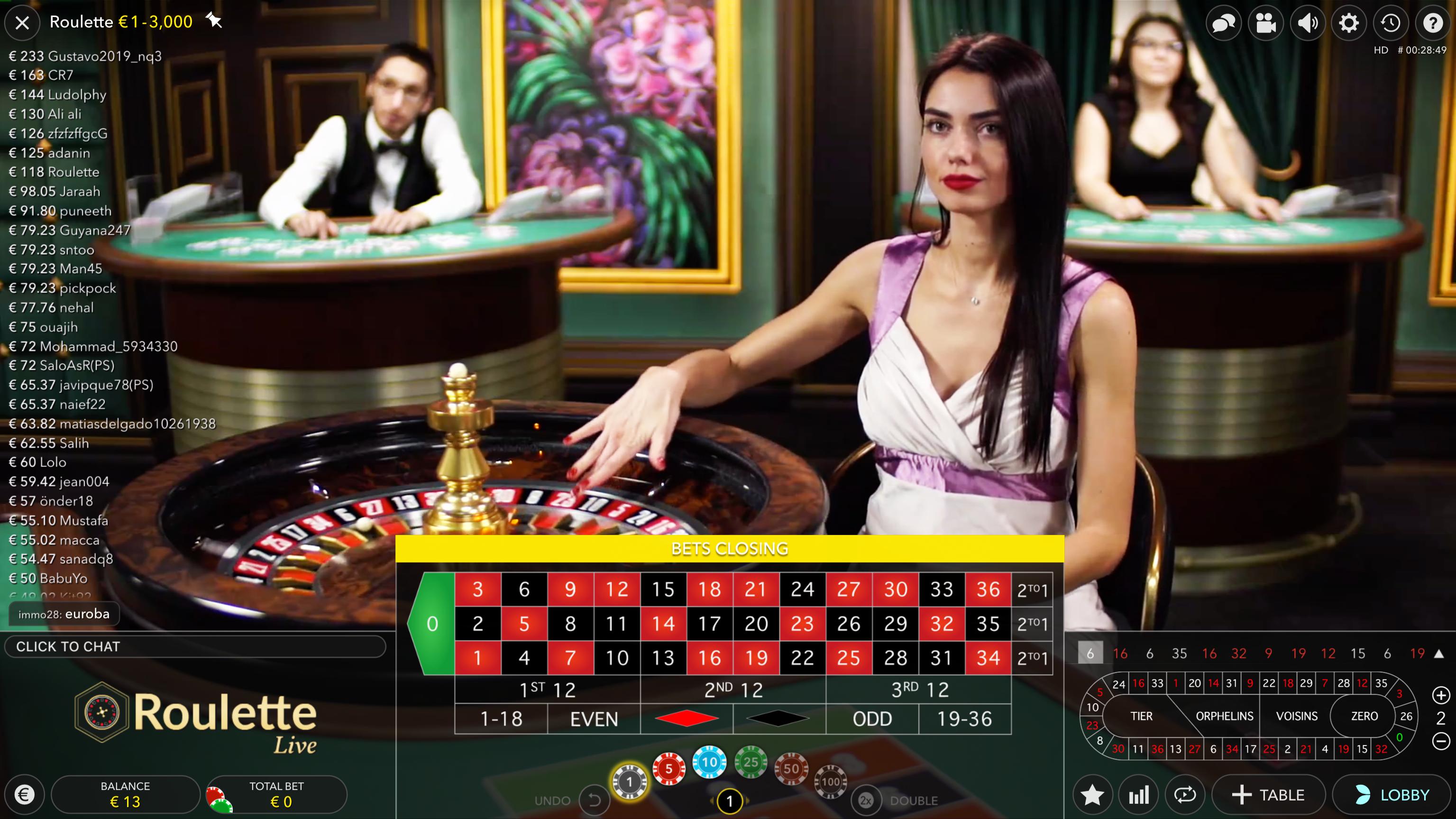 Рулетка онлайн с живым крупье играть скорая играет в карты