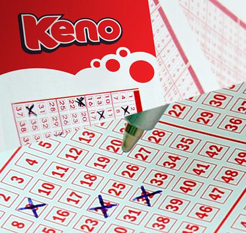 Lotteri Keno billett