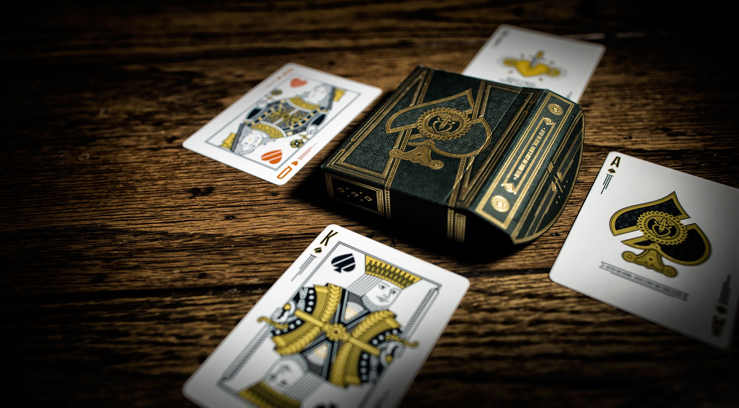 luxury card deck