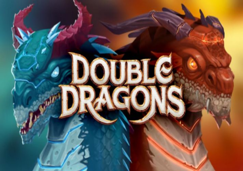 Double Dragons slot game Featured image