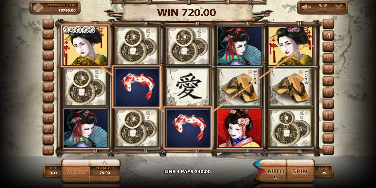 Geisha Slot Game