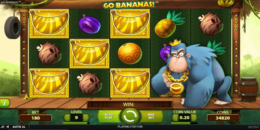 Go Bananas! Slot Machine