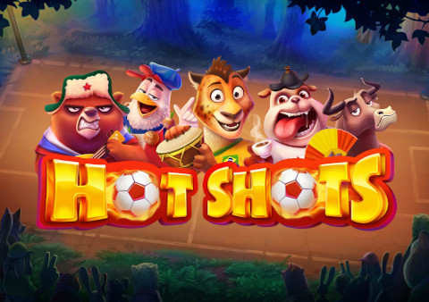 Hot Shots slot game Featured image