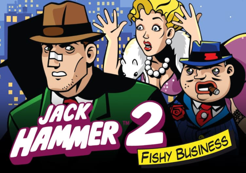 Jack Hammer 2 slot game Featured image