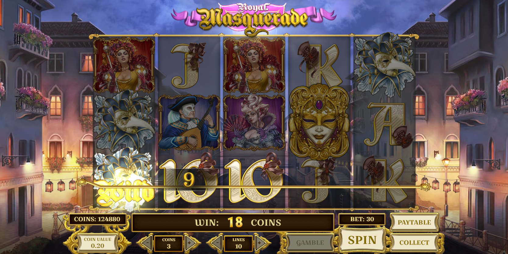 Spiele Royal Masquerade - Video Slots Online