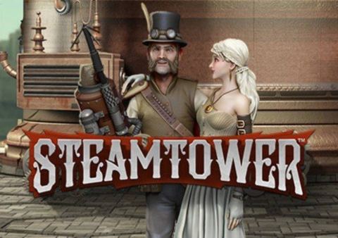 Steam Tower slot game Featured image