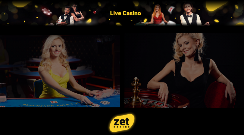 zet casino live - two ladies playing blackjack and roulette