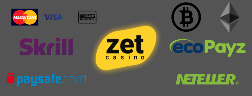 zet casino payment methods skrill neteller bitcoin ecopayz