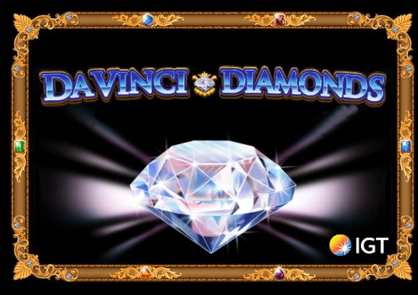 DaVinci-Diamonds-Slotimängu