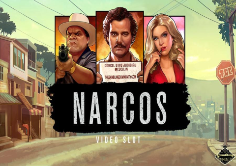 Narcos slot game Featured image