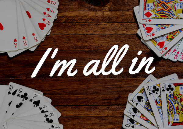 Poker online_all in