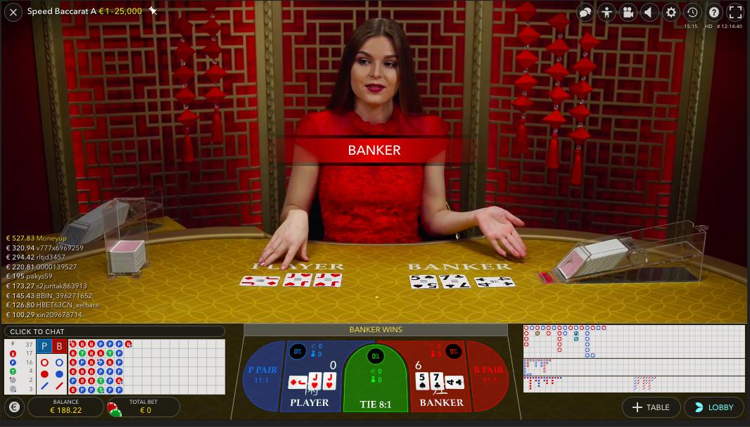 Live Baccarat Russian poker Money Wheel Leve BlackJack Live rulett