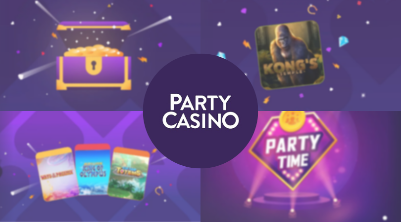 partycasino review logo front page - partycasino legit