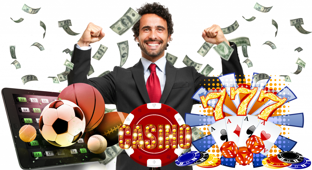 man and online casino games with real money