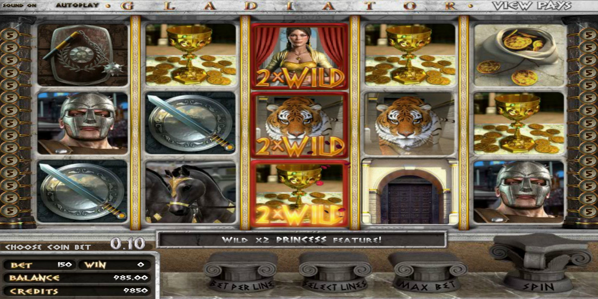 Slot Games Gladiator