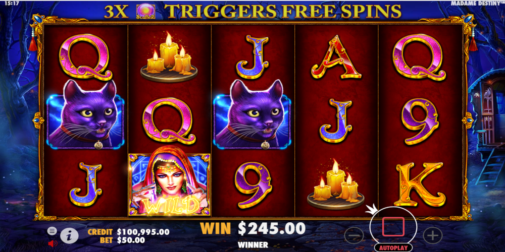 Madame Destiny Slot Machine