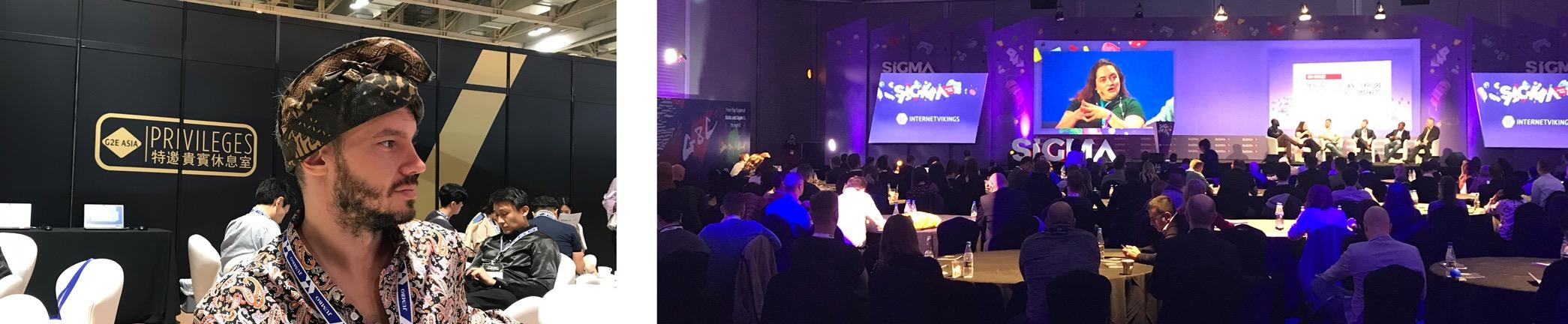 SmartCasinoGuide-Team bei den Online-Gaming-Konferenzen Sigma und G2E