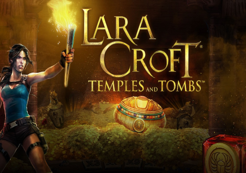 Lara Croft Temples and Tombs slot game Featured image