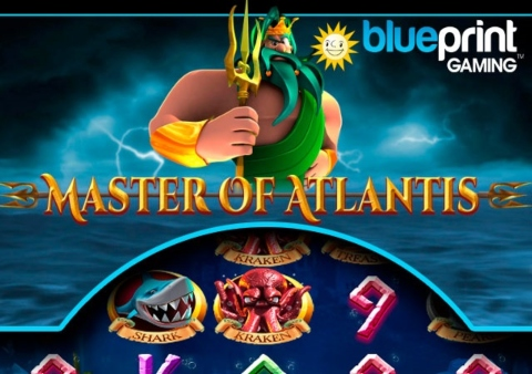 Masters of Atlantis slot game Featured image