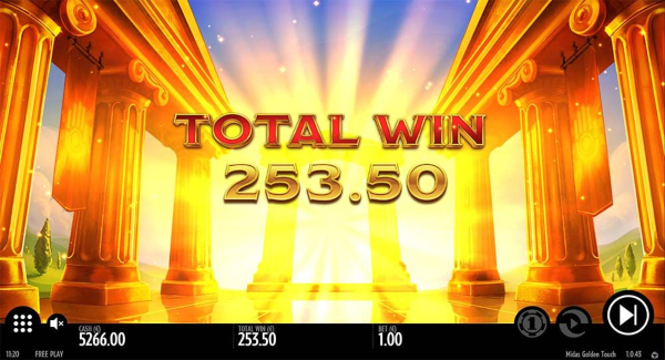 Midas Golden Touch slot game Big Win