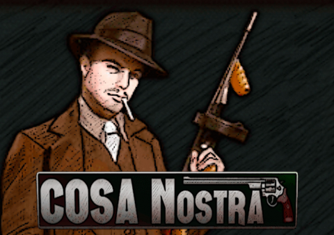 Cosa Nostra slot game Featured image