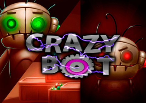 Crazy Bot slot game Featured image
